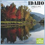 Idaho Landscape Calendar 2022: Official US State Idaho Calendar 2022, 16 Month Calendar 2022