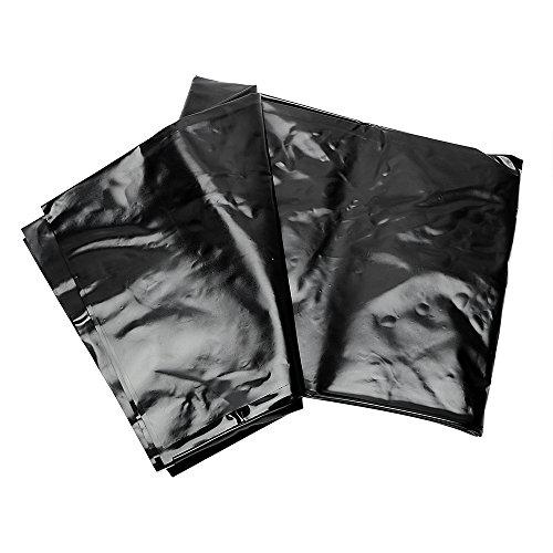 CuiGuoPing Schwarze Bettwäsche, SM-Bettlaken, für Paare Make Love, Wasserdicht, PVC, 2 × 1,2 M