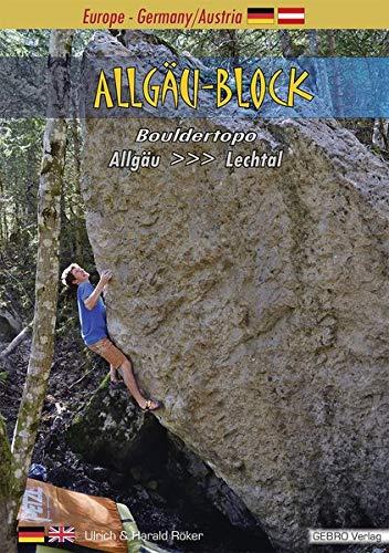 Allgäu-Block: Bouldertopo Allgäu-Lechtal