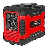 STIER Stromerzeuger Premium SNS-190, Strom Generator, Benzin, 4l Tankvolumen, 21,5 Kg, Stromaggregat, leise mit 59 dB(A), 4-Takt Motor, Inverter Stromaggregat, mit Ölsensor und Eco-Modus, Laufzeit bis