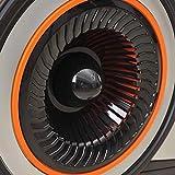 FYYDNR Rudermaschine, Fitnessausrüstung Trainingsmaschinen for den Heimgebrauch gebaut Räder zu Machen, ist leicht zu bewegen wenn Nicht in Gebrauch, 223 * 52 * 88cm - 4