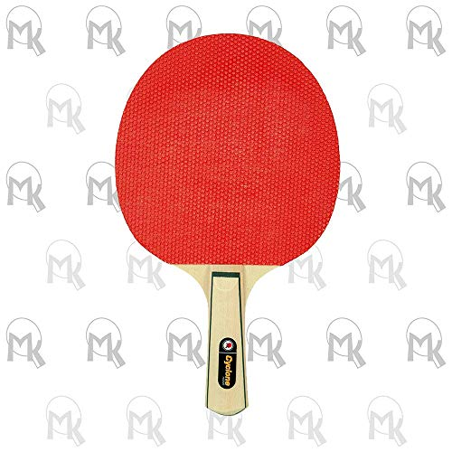 Lowest Price! Martin Kilpatrick Cyclone Bulk Table Tennis Rackets - 100 Pack of Ping Pong Paddles wi...
