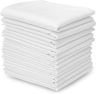 EcoHanky Men's Handkerchiefs 100% Cotton Classic Hankies