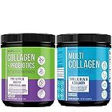 MAV Nutrition | Collagen & Probiotic Powder 210g | Multi Collagen Powder 16oz | for Digestive & Hair, Skin, and Nail Support