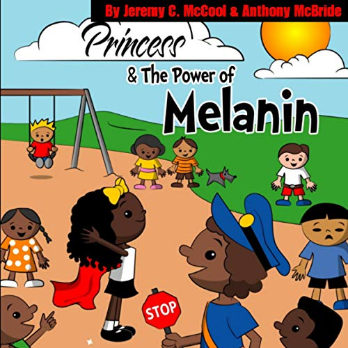 Princess and the Power of Melanin audiobook cover art