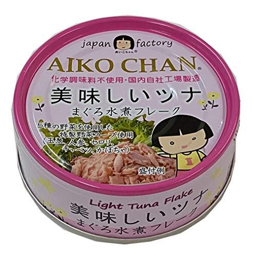 伊藤食品 美味しいツナまぐろ水煮フレーク 70g ×8個
