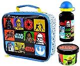 Sconosciuto Kinder Lunch-Box / Lunch-Tasche / Brotzeit-Tasche mit Star Wars Design, isoliert (Einheitsgröße) (Bunt)