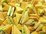 Dollhouse Food Accessories Lot 10 Tuna Toast Sandwich Bread Miniature Food 15144