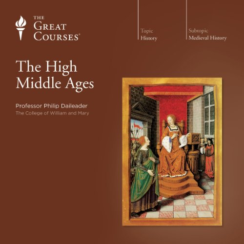 The High Middle Ages audiobook cover art