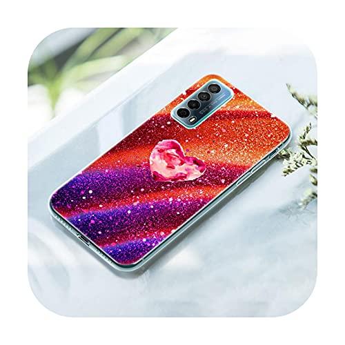 Starlight Blazed Art - Funda de silicona para Huawei P50 Pro P40 Lite E P30 Pro P10 Plus P20 Lite P Smart Z 2021 Pro 2019 Cover-008-P20 Lite