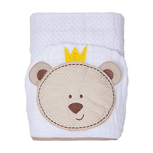 Toalha Soft Toys Com Capuz, Papi Textil, Bege