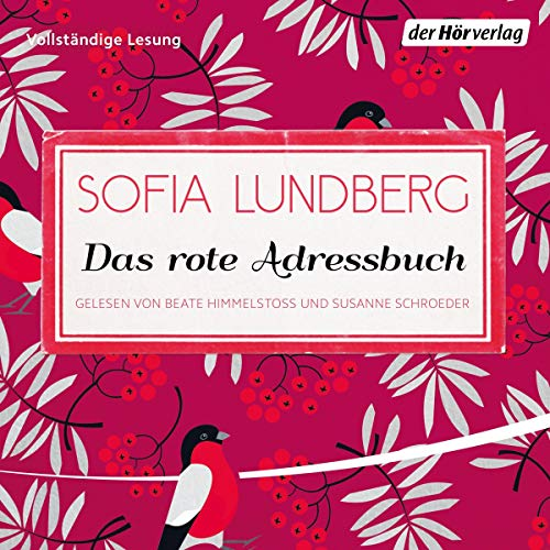Das rote Adressbuch audiobook cover art