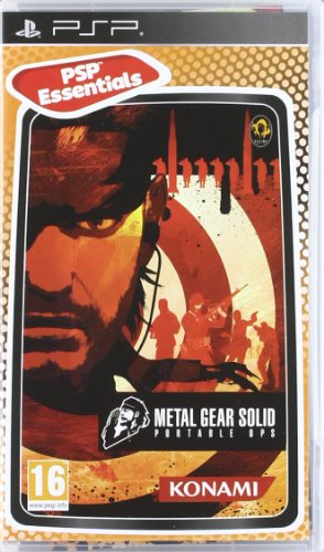 Metal Gear Solid Portable Ops - Reedición
