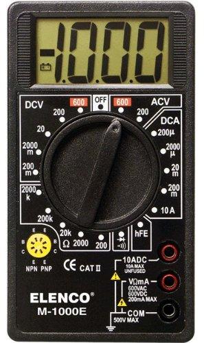 Elenco M1000E Multimeter, M-1000