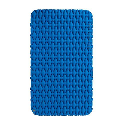 Factory Naturehike Leichte feuchtigkeitsbeständige Luftmatratze Nylon TPU Isomatte Aufblasbare Matratze Isomatte Für 2Person NH19Z055-P (Blue)