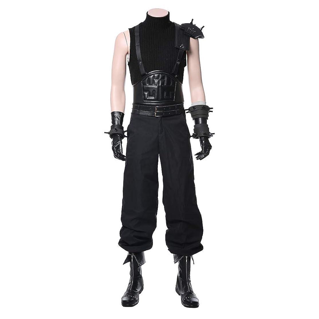 限界アシスト命題mrcos ファイナルファンタジーVII リメイク Final Fantasy VII Remake コスプレ衣装 クラウド?ストライフ (Cloud Strife) コスチューム 変装 仮装 ハロウィン イベント 女性L