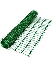 True Products B1001F opgerold afsluithek van kunststof, 50 m, groen