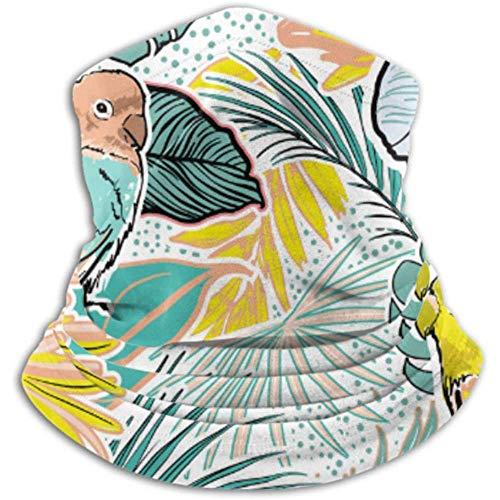 Xian Shiy Schöne Handskizze Tropical Havana Frauen Schal, eine Vollmaske oder Hut, Halsmanschette, Halskappe Maske, Hälfte