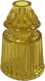 Pinball Plastic Translucent Yellow Star Post 1-1/16