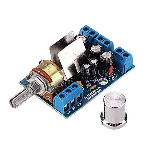 For PC-Lautsprecher TEA2025B Mini Audio Verstärker-Brett Dual Stereo 2.0-Kanal-Verstärker-Brett 3W + 3W 5V 9V 12V CAR