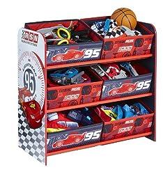 Des jouets par milliers dans ce meuble Cars à bacs