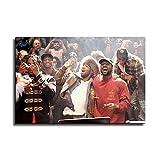 Kanye West und Kid Cudi Hip Hop Rap Poster Wandkunst Bild