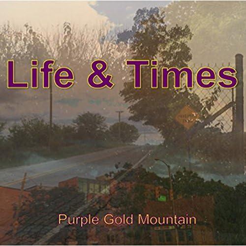 Purple Gold Mountain