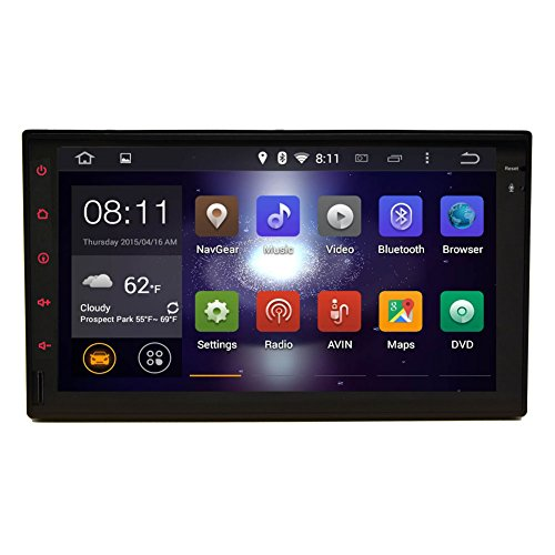 Pupug YH.AN271gn11 7-Inch Android 4.2.2 Tablet Universal Double Din In Dash Car GPS navigation with 3D map