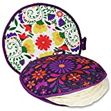 Large Tortilla Warmer, Size 12 inch for...
