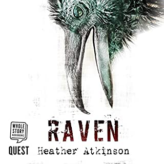 Raven audiobook cover art