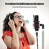 Immagine 1 ammoon microfono condensatore professionale con