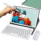 5G Tablet 10 Pollici con Wifi Offerte 4GB RAM 64GB/128GB Espandibili Android 10.0 Certificato Google...