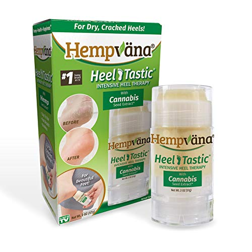 Original Hempvana Heel Tastic Intensive Heel Repair Therapy Review