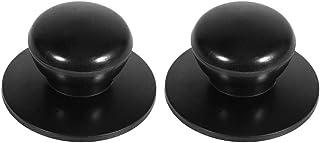 Manija/perilla de repuesto para sartén, olla, tapas de caldera, manija universal, accesorio para cacerola con tornillos, 4 piezas