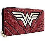 DC Wonder Woman abito da guerriero a stelle e strisce Rosso Portafoglio