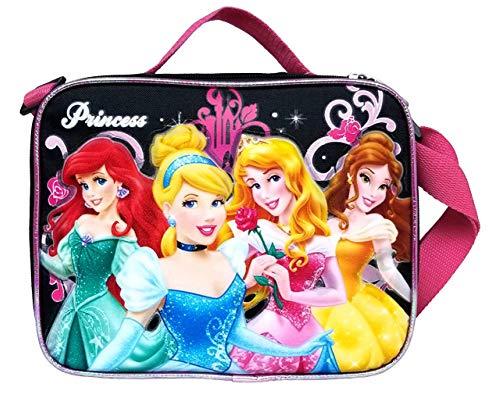1 X Lunch Bag - Disney - Princess - Black by Disney