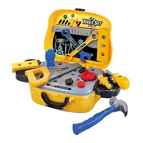 Floridivy Kind Plastic Repair Tools Game Play Toy koffer set Simulation Kid Early Learning Onderwijs Kinderen Speelgoed