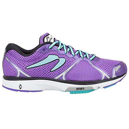 Newton Running Women's Fate II Shoe, Zapatillas de Running para Mujer, Morado (Purple/Blue), 38 EU