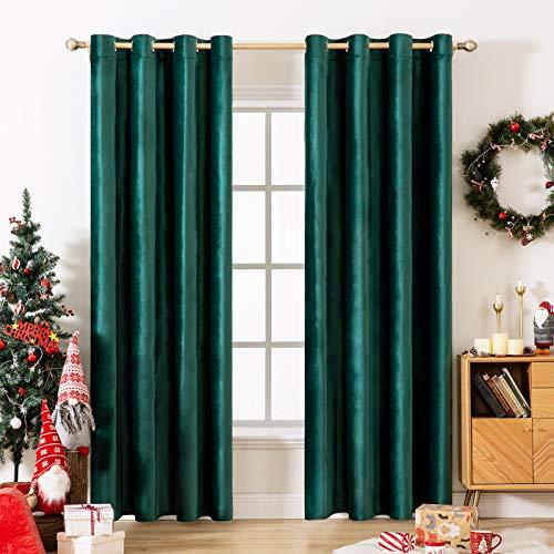 cortina verde fabricante MIULEE