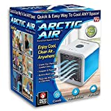 Portable Air Conditioner,Arctic Air Small Air Fan, Ac Unit Personal Air Cooler,Evaporative Cooler,Cold Air Fan Be Great Gift In Summer,for Office, Camping Tent, Car, Bedroom, 7 Colors Night Light