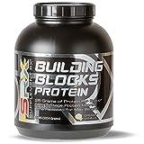 Supplement Rx (SRX) - Building Blocks Protein Creamy Vanilla 4 lbs, Whey Protein Powder Concentrate, Whey Protein Isolate, Egg White Protein Powder, Weight Loss, Gluten Free, Protein Shake Powder