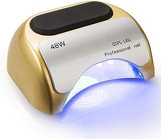 CJF Nail 48W Inteligente Sensor de luz LED Polaco Pegamento para Hornear de la lámpara del Clavo de la lámpara de inducción Polaco Inteligente para Tienda de uñas