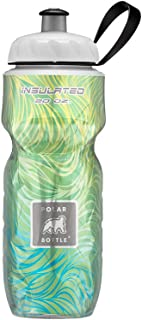 Polar Bottle Insulated Water Bottle 20 oz - 100% BPA-Free Cycling and Sports Water Bottle - Dishwasher & Freezer Safe (Lemongrass,  20 Ounce)