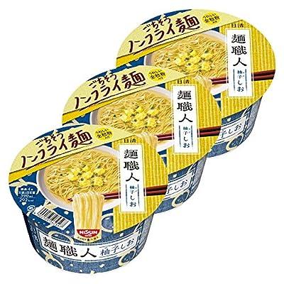 日清 麺職人 柚子しお 76g ×3個
