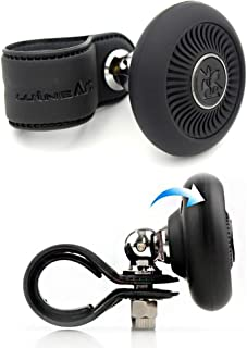 APROFAMILY Folding Type Power Handle Knob Power Handle Spinner Car Steering Wheel Vehicle (Black)