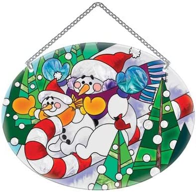 Selling and selling Joan Baker Designs Super sale period limited Christmas Winter Holiday Suncatcher-MO339R-Sl