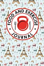 Food and Exercise Journal: Daily Food Diary, Food Diary Template, Food And Exercise Log, Food Tracking Journal (Food and Exercise Journals) (Volume 15)