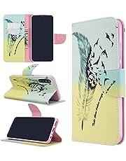 Lyzwn Funda Xiaomi Redmi Note 8T,Patrón Pintado Tapa Flip PU Suave Cuero Case Protectora con Ranura Tarjetas y Billetera Cierre Magnético Plegable Soporte Libro Smartphone Carcasa para Redmi Note 8T