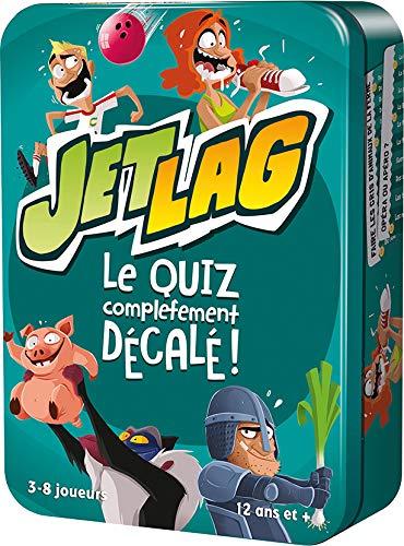 puissant Asmodee-Jet Lag, CGJET01, jeux de société
