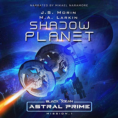 Shadow Planet: Mission 1 audiobook cover art